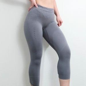 Falke grey compression seamless leggings